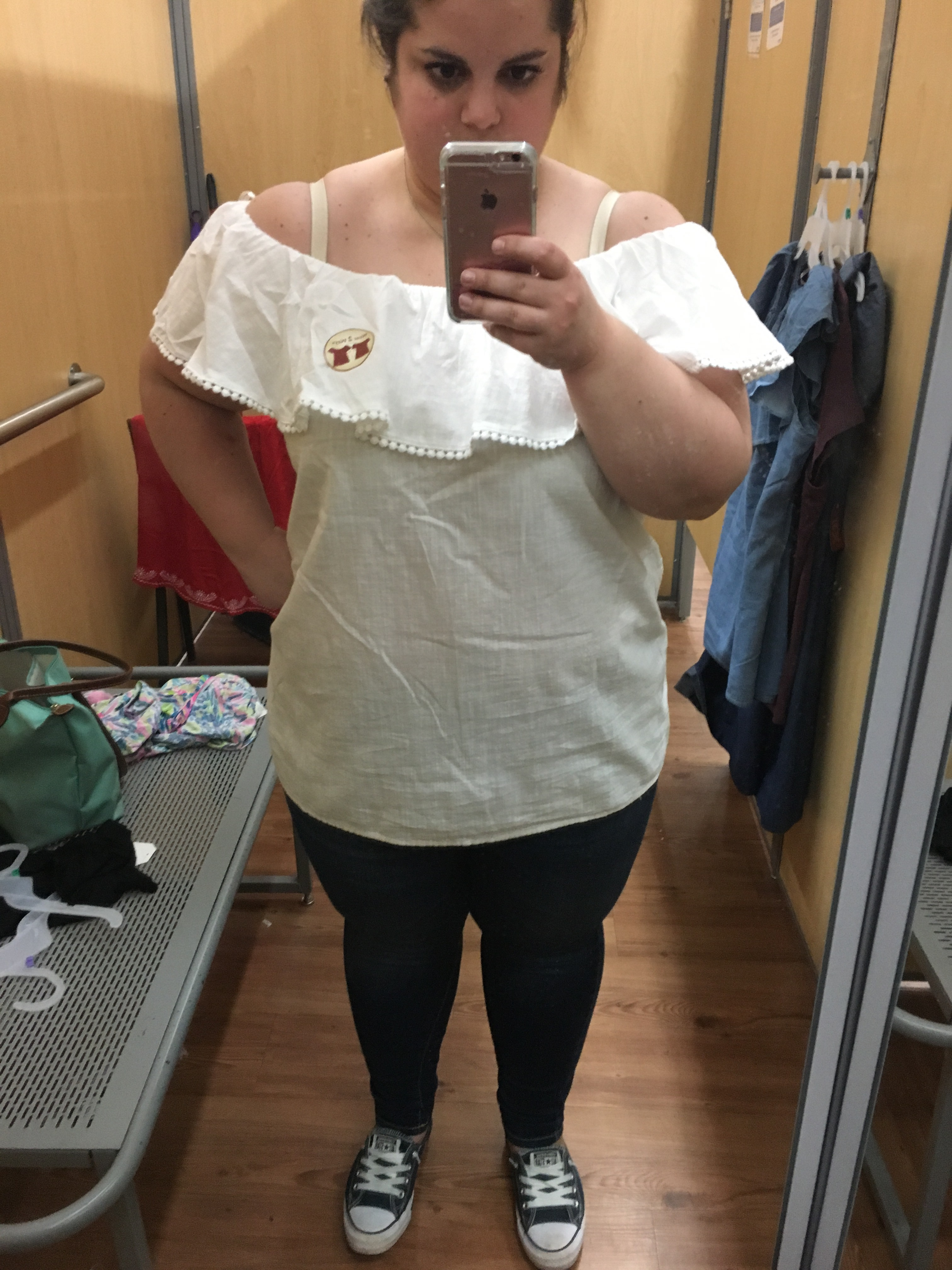 e25fc5db7bee6d I think this white top is going to be super versatile, I think it will look  cute with some of my Lilly Pulitzer pants. I love that the fabric is a  nice, ...